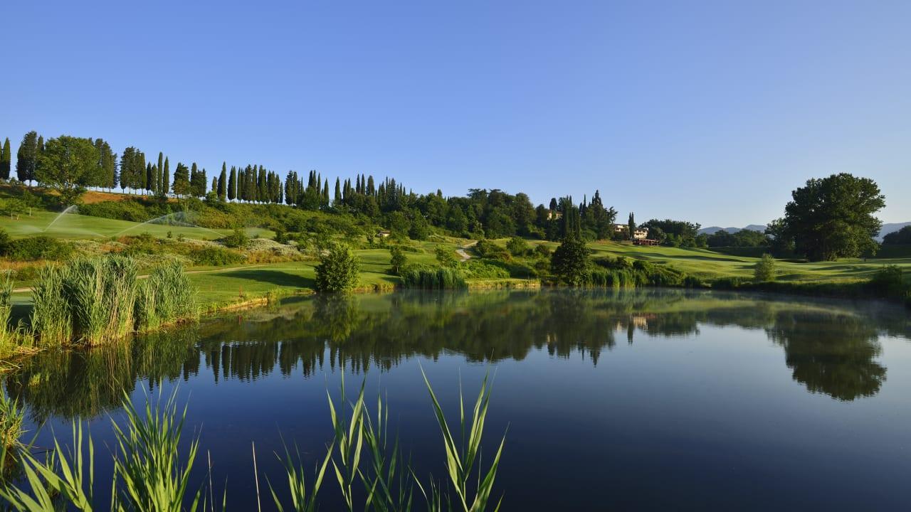 Ihre kulinarische Rundreise: Golf Club Poggio dei Medici. (Foto: ruhrtours Reisen GmbH)