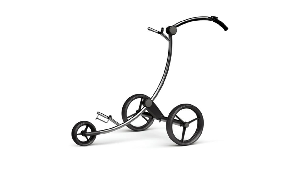 Der Zorro S Magic Plus Elektro-Trolley von PG PowerGolf aus der Saison 2017. (Foto: PG PowerGolf)