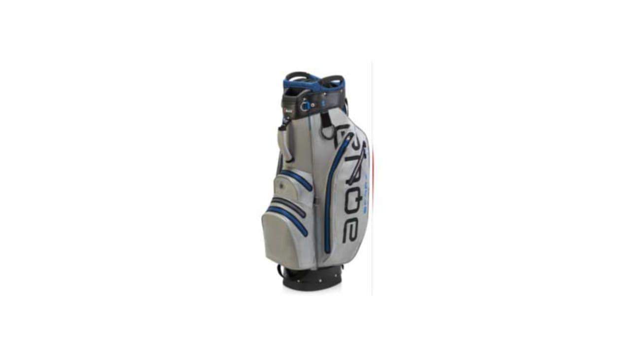Das neue Cartbag von Big Max Golf in der Farbe grau. (Foto: Big Max Golf)