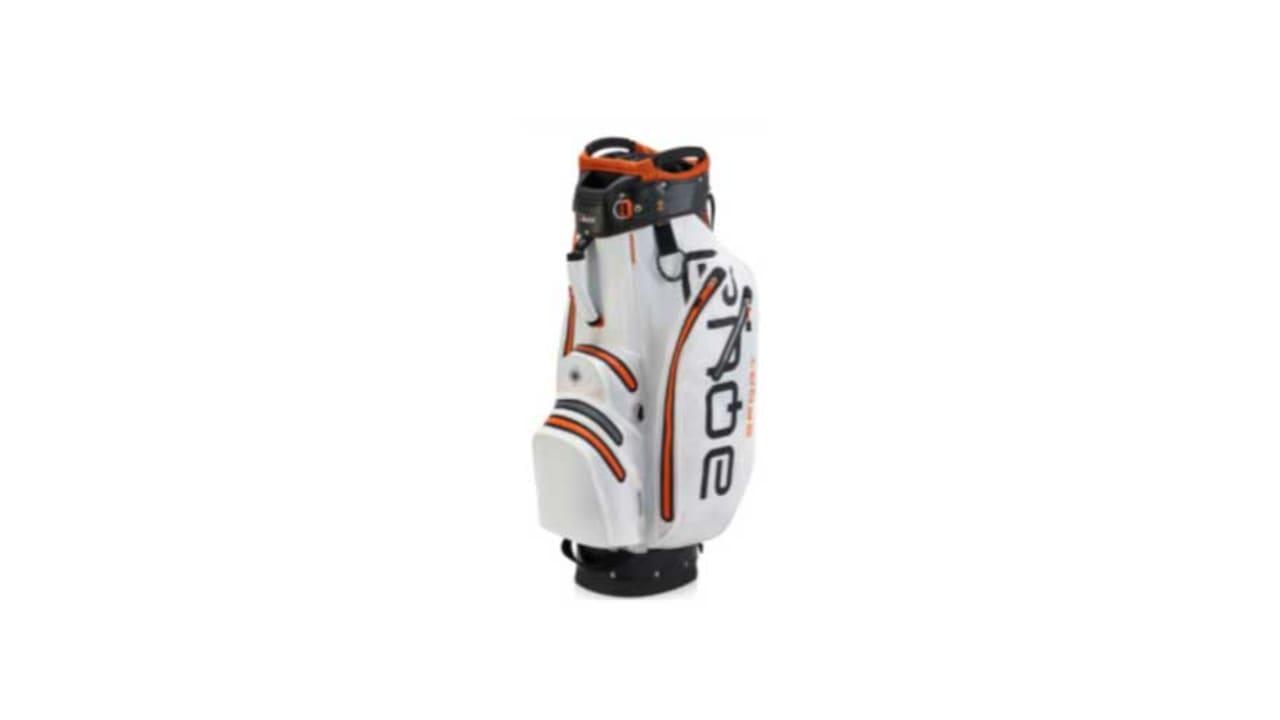 Das neue Cartbag von Big Max Golf in der Farbe weiß. (Foto: Big Max Golf)