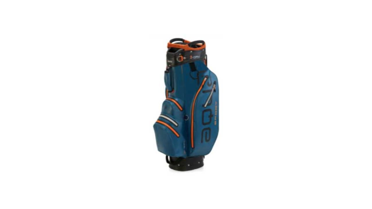 Das neue Cartbag von Big Max Golf in der Farbe blau. (Foto: Big Max Golf)