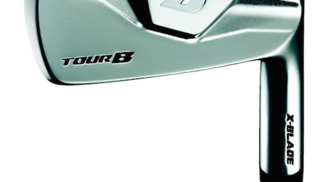 Die X-Blade Eisen der Bridgestone Tour B Schlägerserie. (Foto: Bridgestone)