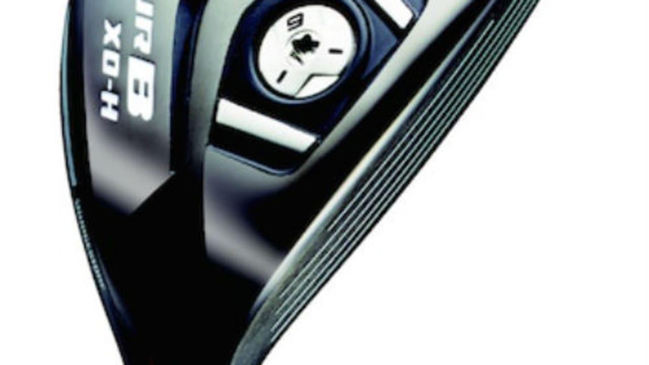 Die XD-H Fairwayhölzer und Hybride der Bridgestone Tour B Schlägerserie. (Foto: Bridgestone)