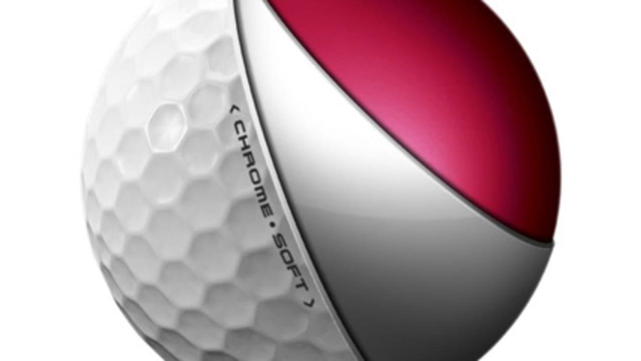 Der Ball besteht aus zwei Schichten. Die Rote Schicht ist der Kern, die weiße sorgt für Gefühl und Präzision.