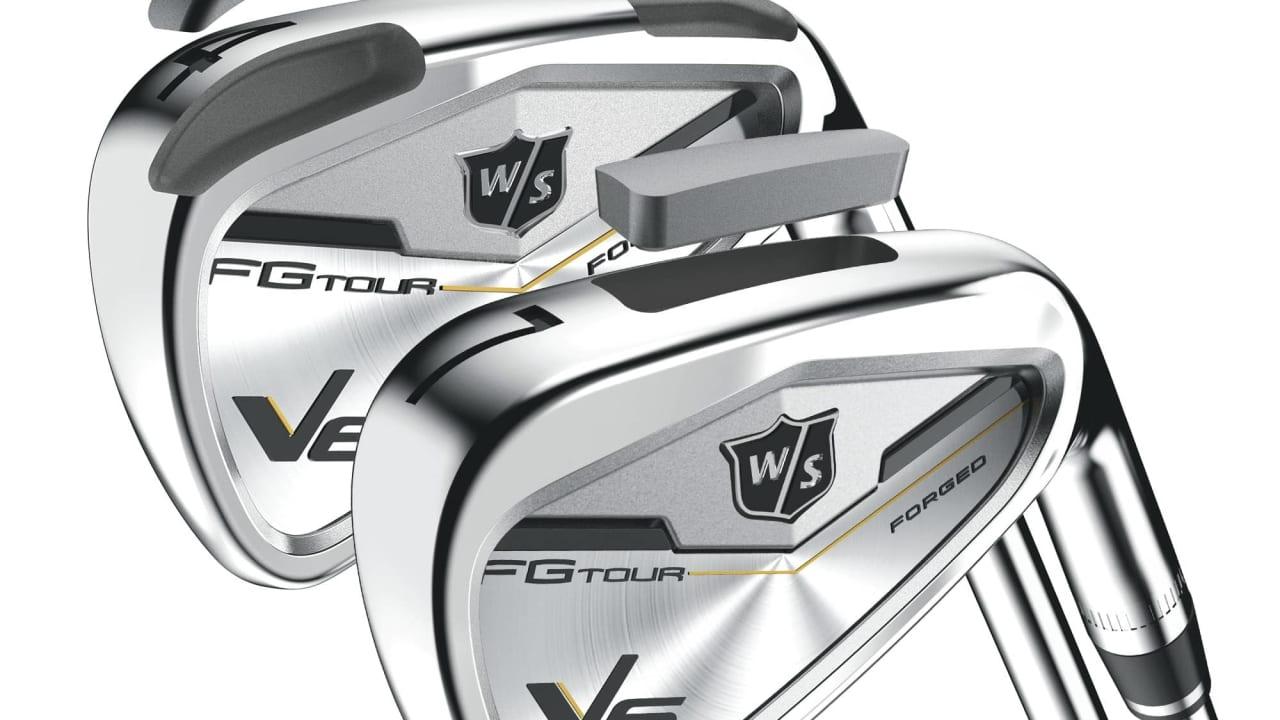 Die Wilson Staff FG Tour V6 Eisen folgen den V4 Eisen nach und sind bereits mit Toursiegen ausgestattet. (Foto: Wilson Staff)