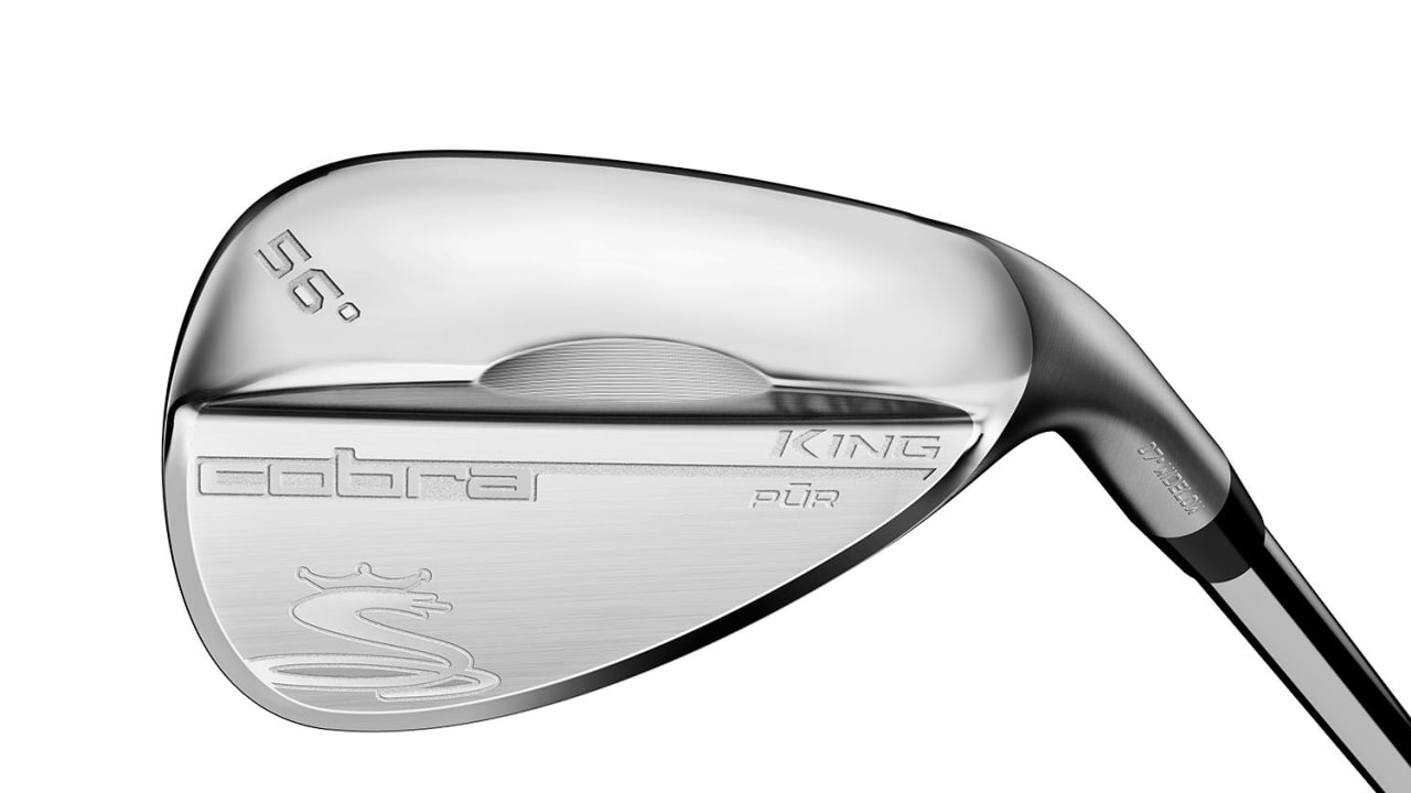"Das Cobra King Pur Wedge mit dem ""Wide Low"" Sohlenschliff. (Foto: Cobra Golf)"
