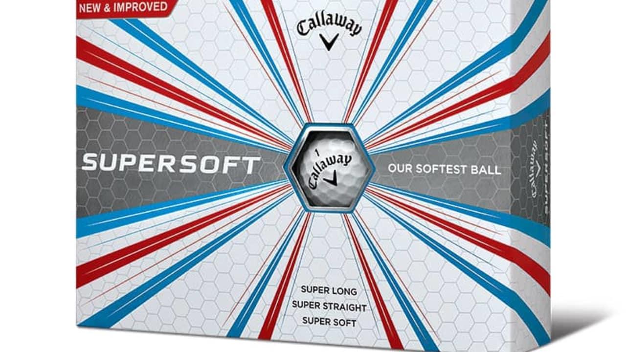Die Callaway Supersoft Golfbälle 2017. (Foto: Callaway)