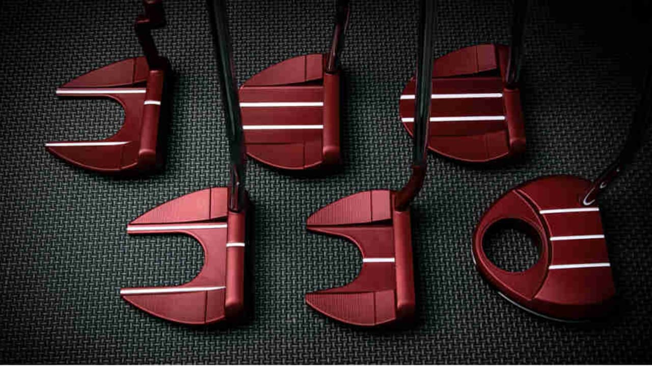 Die neue TaylorMade TP Red Putter Kollektion (Foto: TaylorMade)