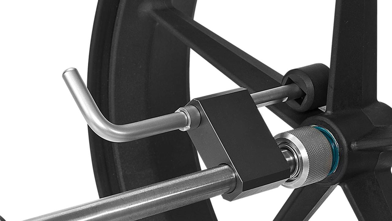Das Canto-Modell kann mit Kunststoffrädern und mit edlen Titanrädern erworben werden. (Foto: TiCad)