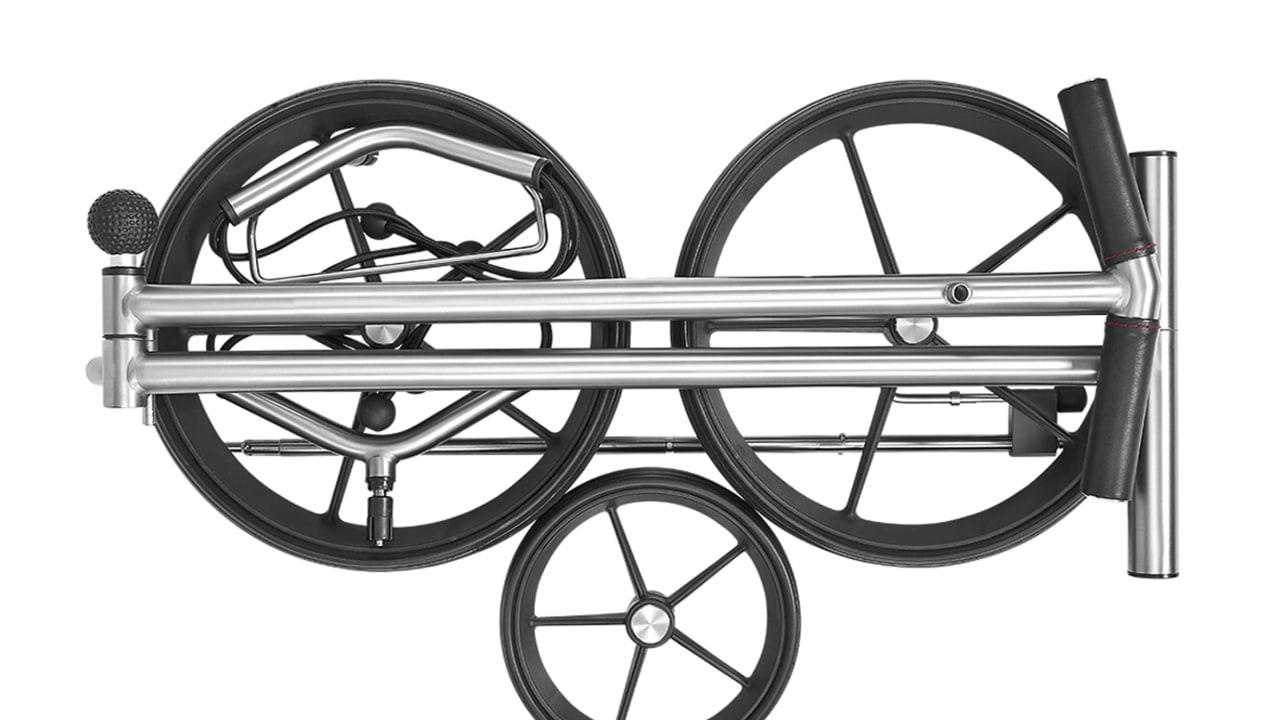 In nur zwei bis drei Schritten ist der TiCad Canto zusammengebaut und aufgebaut. (Foto: TiCad)