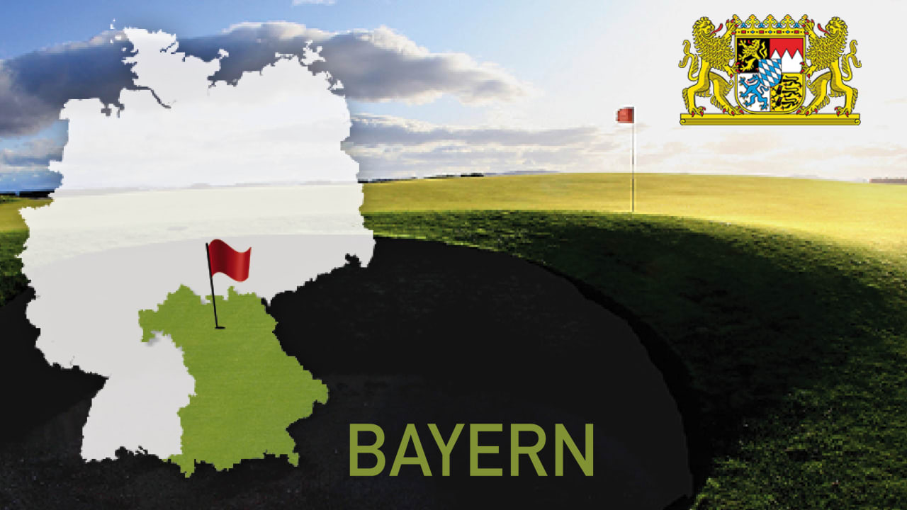 Golfen im Bundesland Bayern