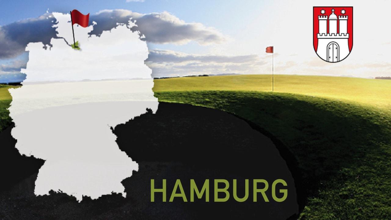 Golfen im Bundesland Hamburg