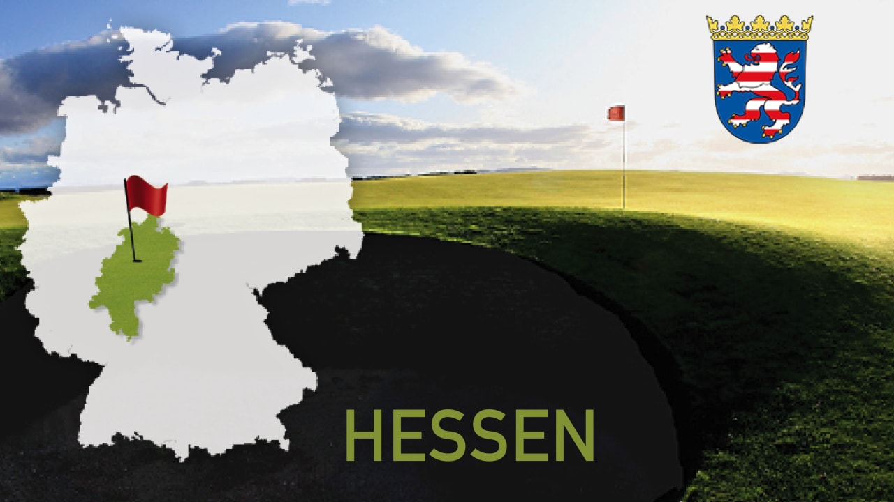 Golfen im Bundesland Hessen