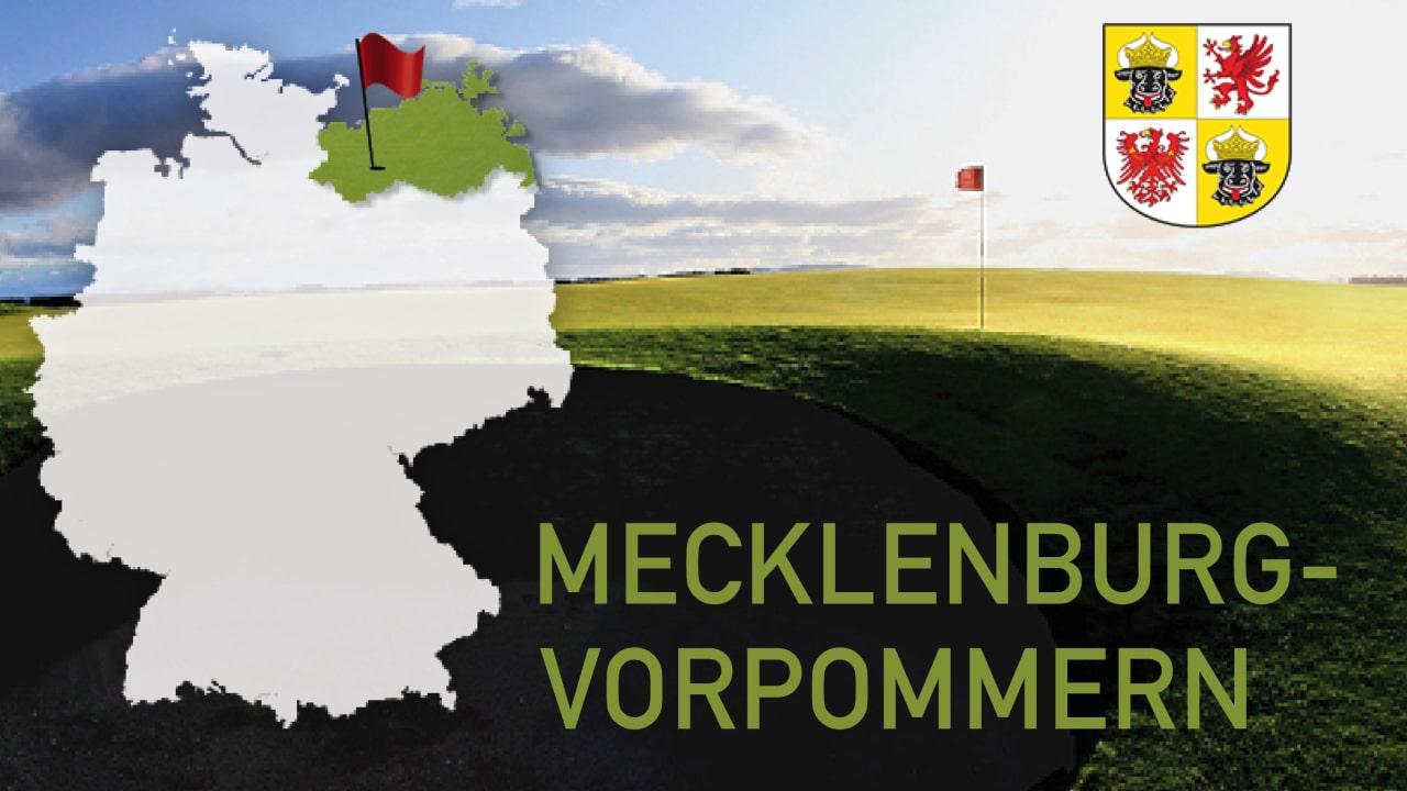 Golfen im Bundesland Mecklenburg Vorpommern