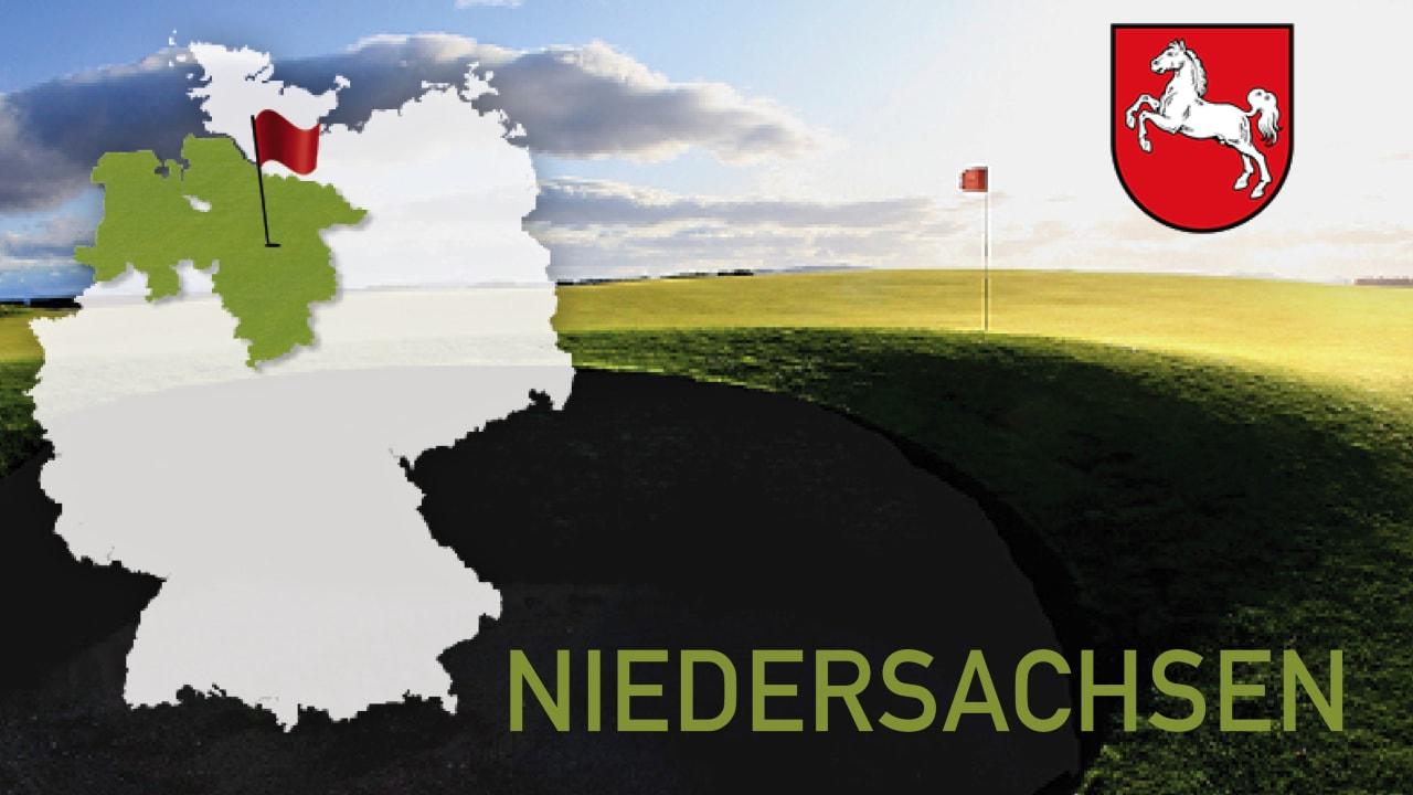 Golfen im Bundesland Niedersachsen