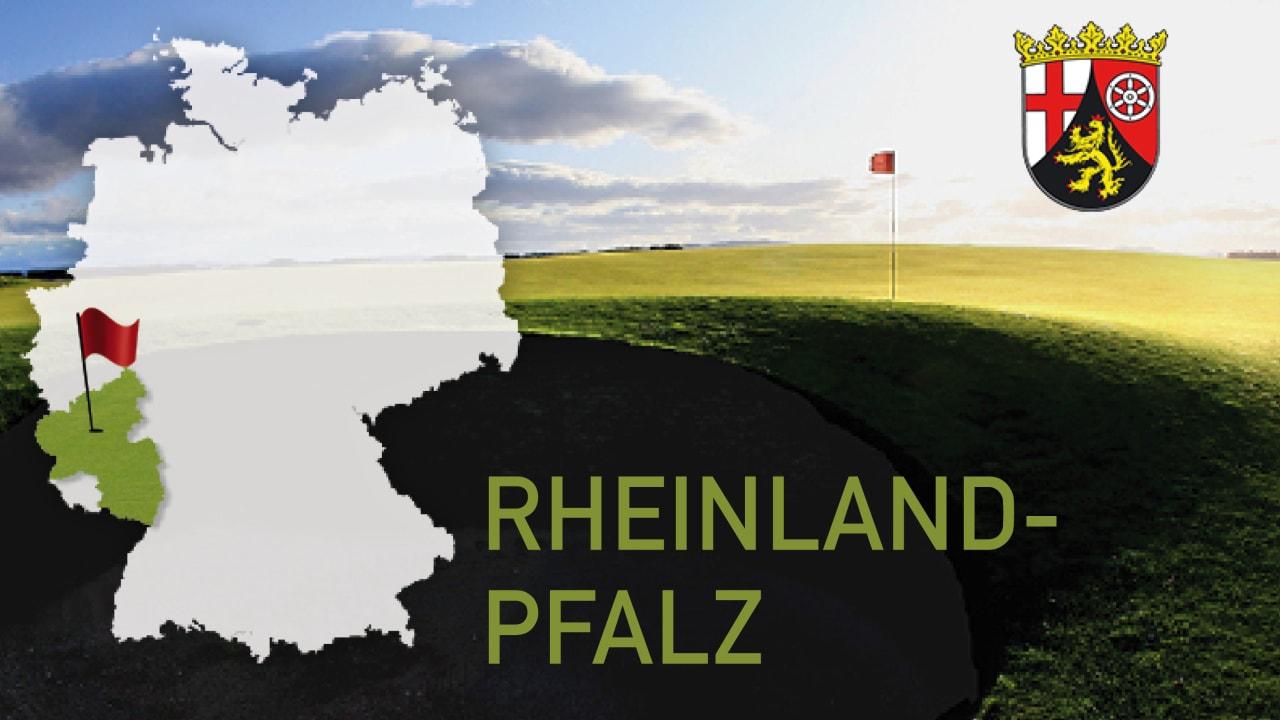 Golfen im Bundesland Rheinland-Pfalz