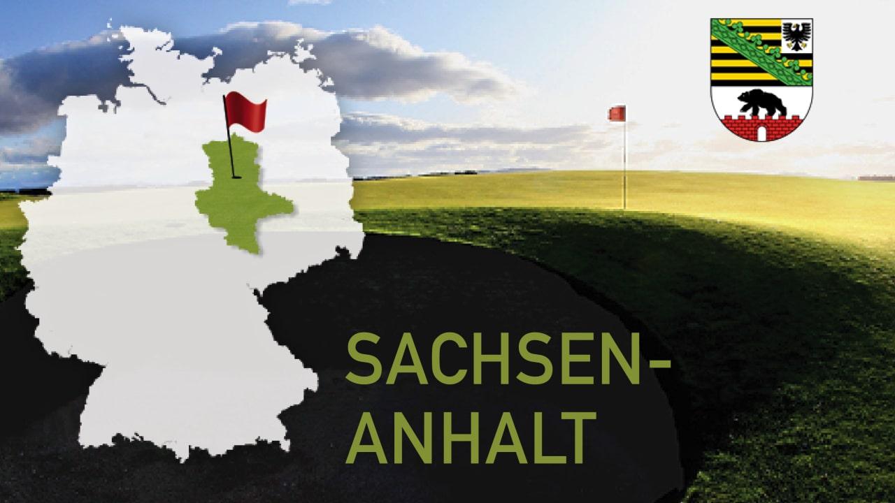Golfen im Bundesland Sachsen-Anhalt