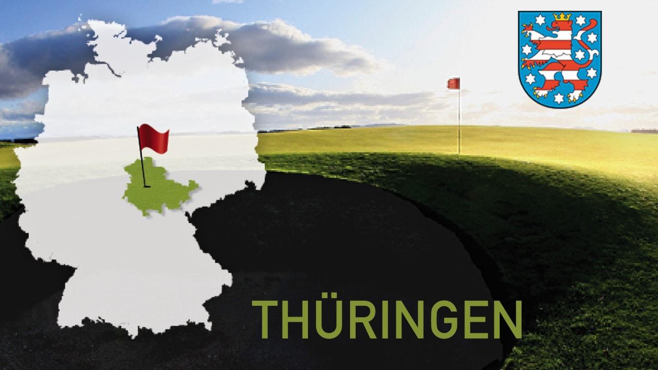 Golfen im Bundesland Thüringen