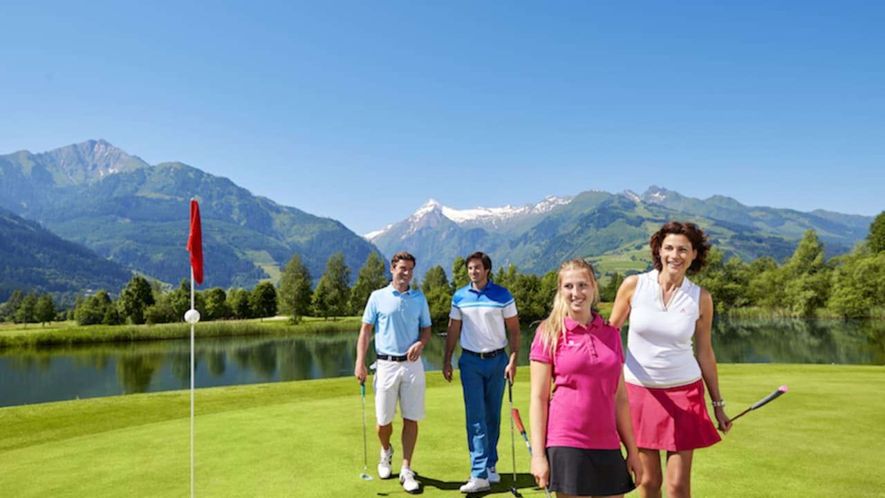 Im Sommer ist Zell am See das Golfzentrum der Alpen. (Foto: Hotel Berner)