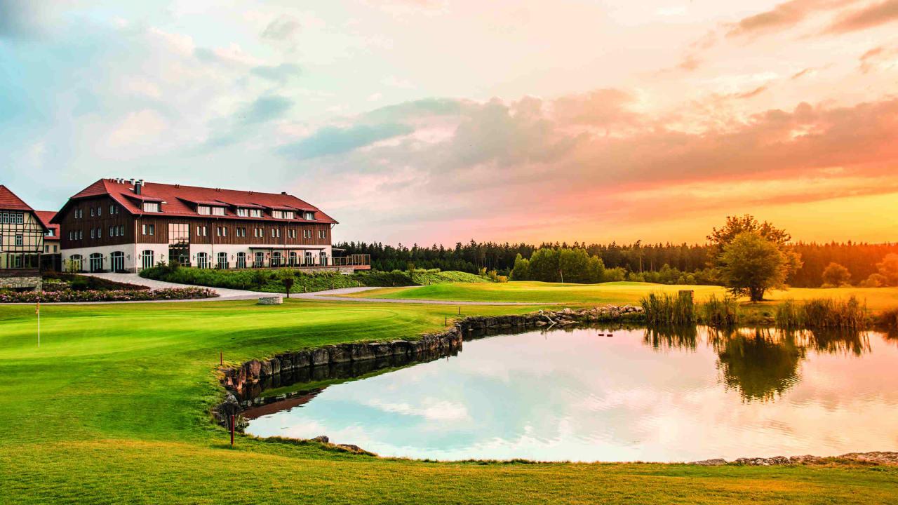 Das Spa & GolfResort Weimarer Land liegt vor den Toren Weimars. (Foto: Spa & GolfResort Weimarer Land)
