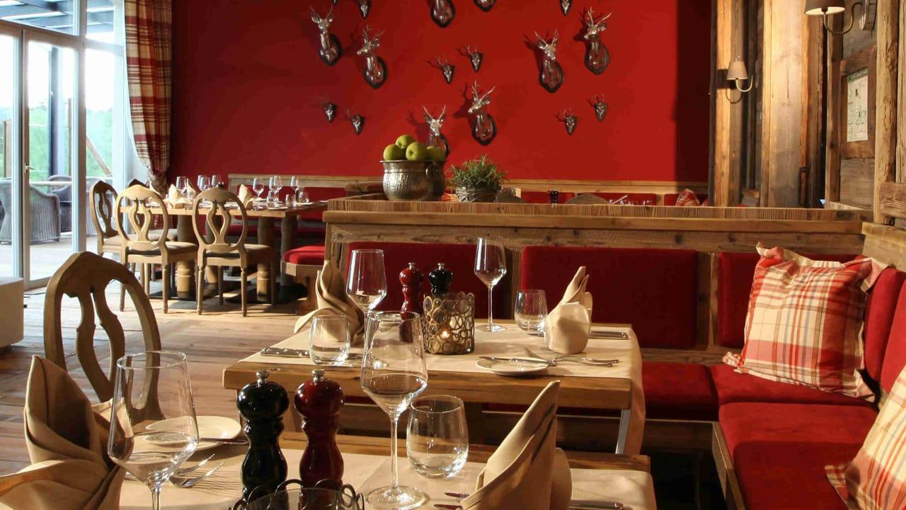 Das Restaurant Augusta sorgt für einen kulinarischen Ausklang nach der Runde. (Foto: Spa & GolfResort Weimarer Land)