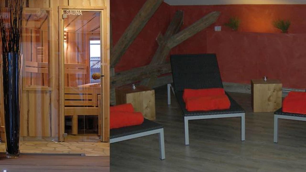 Nutzen Sie freie Zeit um Ihre Energiereserven wieder voll aufzuladen. Am besten gelingt das im attraktiven Saunabereich des Hotels. (Foto: Gut Apeldör)