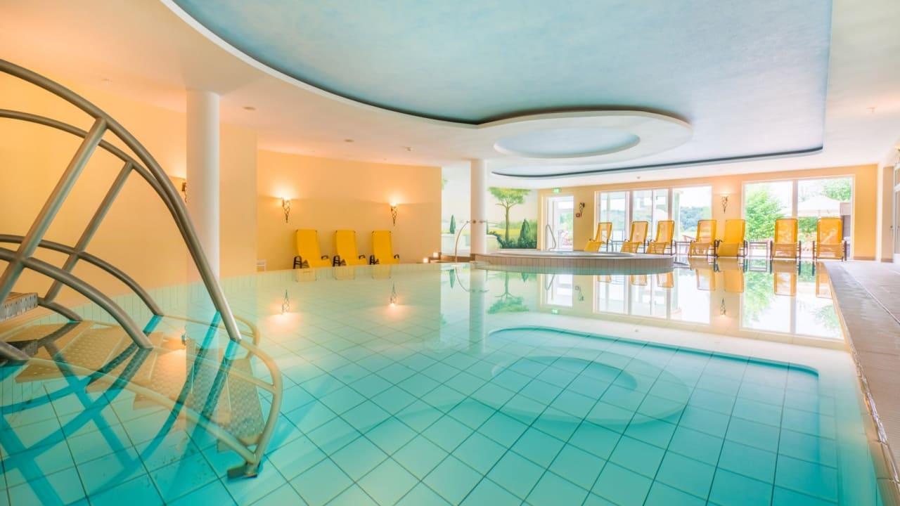Der Spa & Wellnessbereich des Castanea Resort. (Foto: Castanea Resort Hotel)