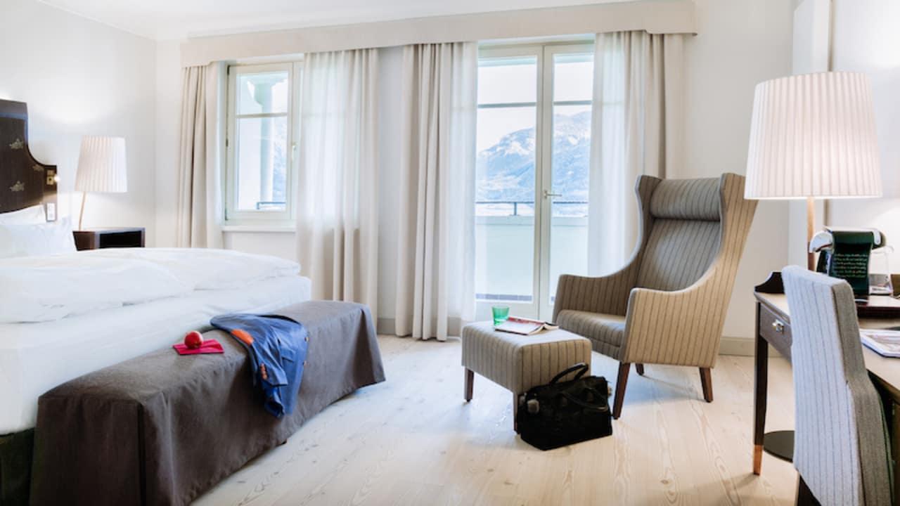 Die Zimmer des Hotels sind gemütlich und ansprechend angelegt. (Foto: Richard Schabetsberger)