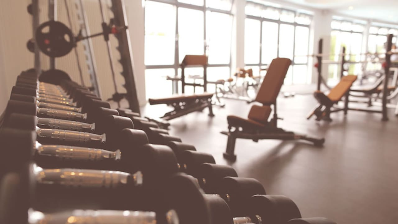 Das Fitnessstudio in der SPAworld Fleesensee. (Foto: SCHLOSS Fleesensee)
