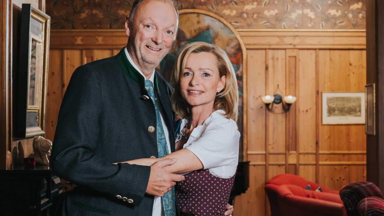 <h2>Ihre Gastgeber</h2>Inge und Gerhard Lidl heißen Sie herzlich willkommen. (Foto: Hotel Drei Quellen Therme)