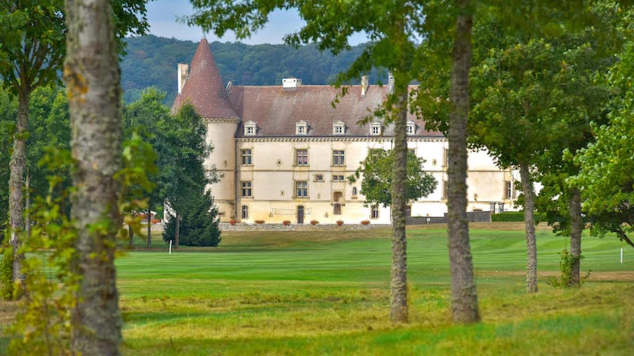 Der Golfplatz wurde 1990 gegründet. (Foto: Hôtel Golf Château de Chailly)