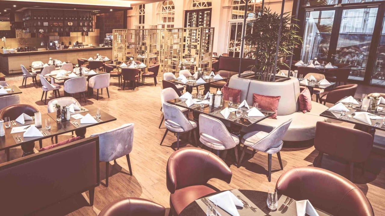 Das Restaurant Orangerie. (Foto: SCHLOSS Fleesensee)