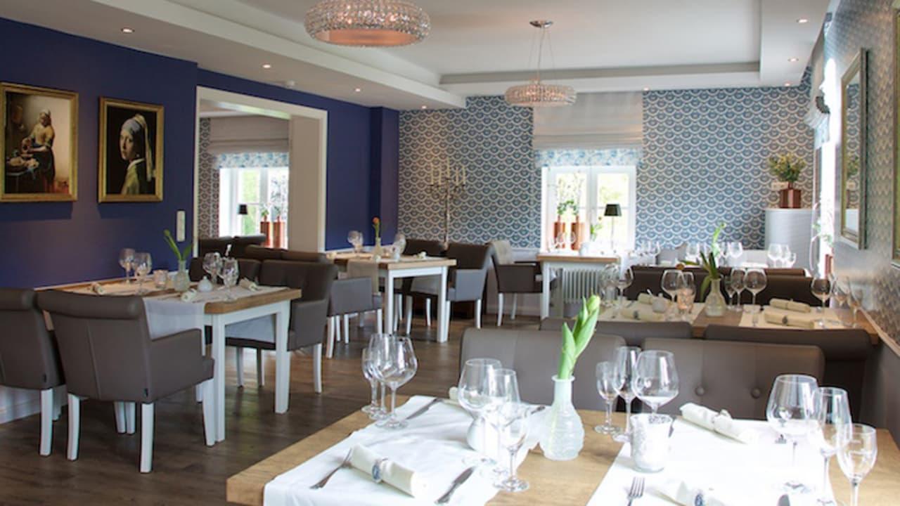 De Blauwe Kroon bietet Fine Dining. (Foto: Schloss Basthorst)