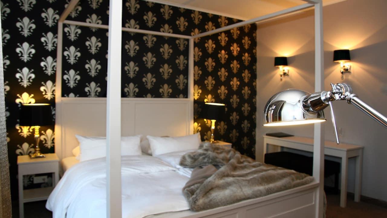 Die Zimmer der Waldresidenz zeichnen sich durch Stil und Modernität aus. (Foto: Schloss Basthorst)