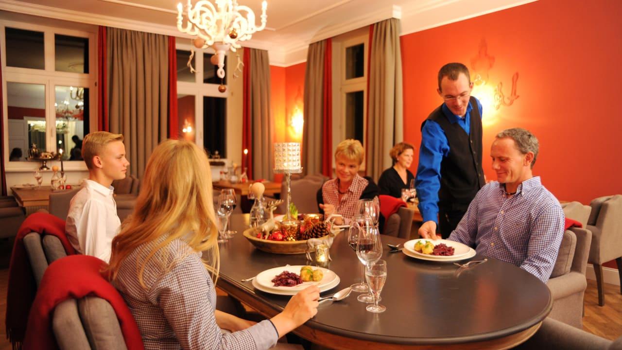 Im ganzen Haus herrscht eine besonders familiäre und gastfreundliche Atmosphäre. (Foto: Andreas Duerst)