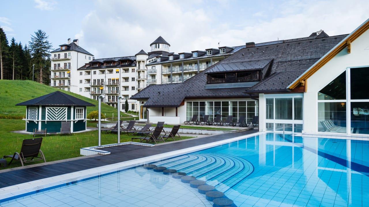 Der Wellness- und Spa-Bereich des Hotels erstreckt sich über insgesamt 4.500m². (Foto: Richard Schabetsberger)