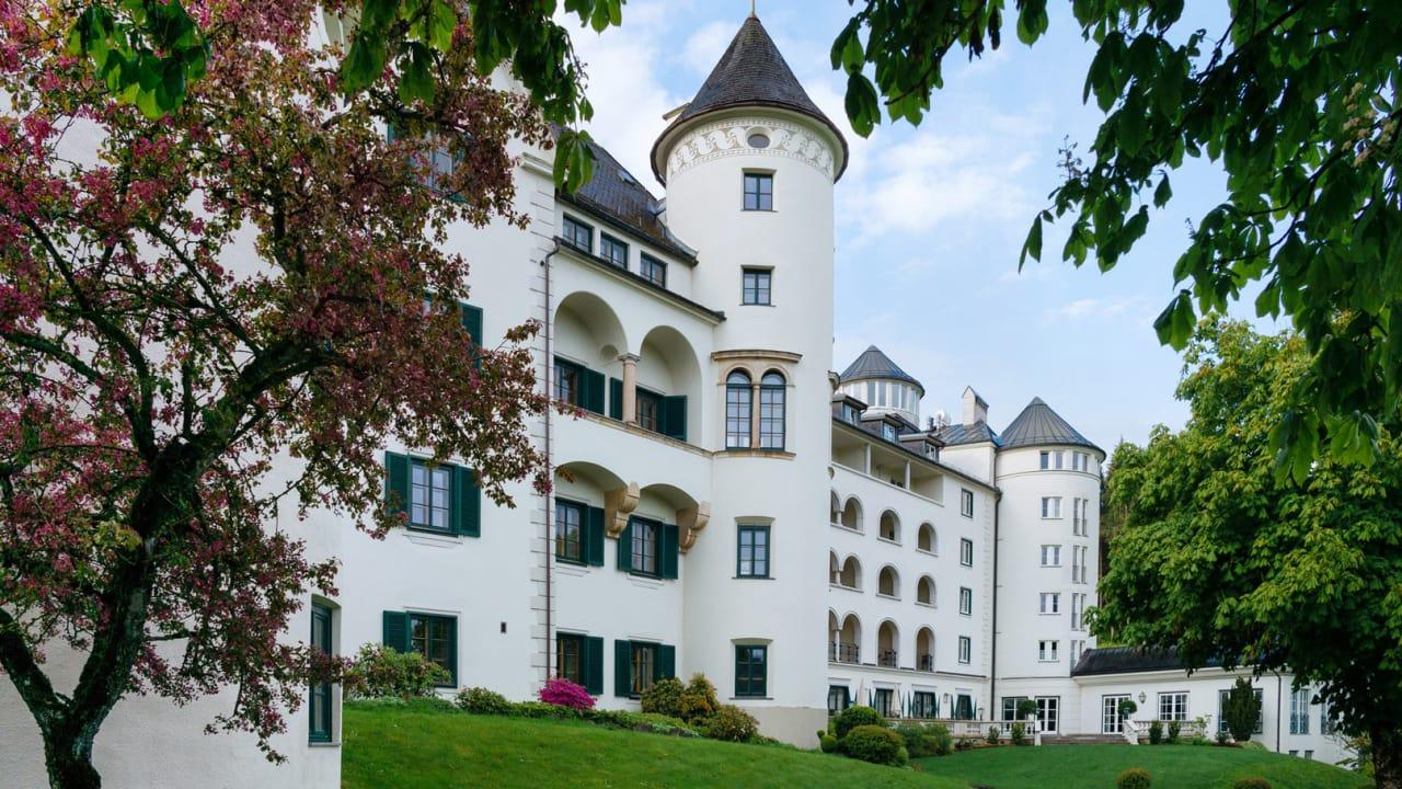 Das Romantik Hotel Schloss Pichlarn... (Foto: Richard Schabetsberger)