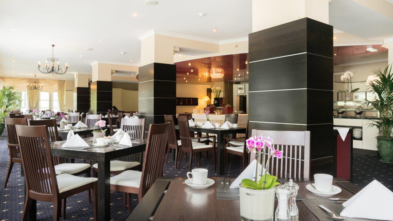 Das Schloss Restaurant von Romantik Hotel Schloss Pichlarn. (Foto: Richard Schabetsberger)