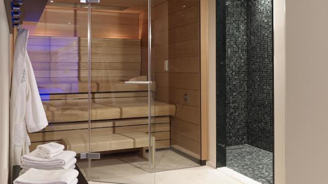 Ebenso ist der Spabereich für jeden Gast frei zugänglich. (Foto: Boutique Hotel Villa am Ruhrufer Golf & Spa)