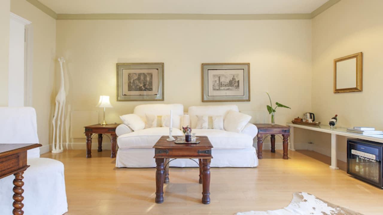 Impressionen der DeluxeSuite (Foto: Villa Coloniale)