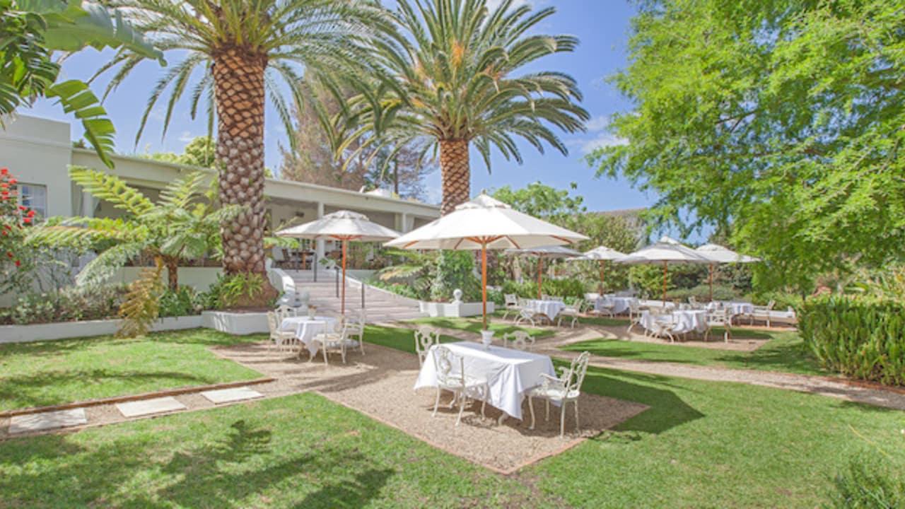 Genießen Sie die Ruhe im Garten des Gästehauses. (Foto: Villa Coloniale)