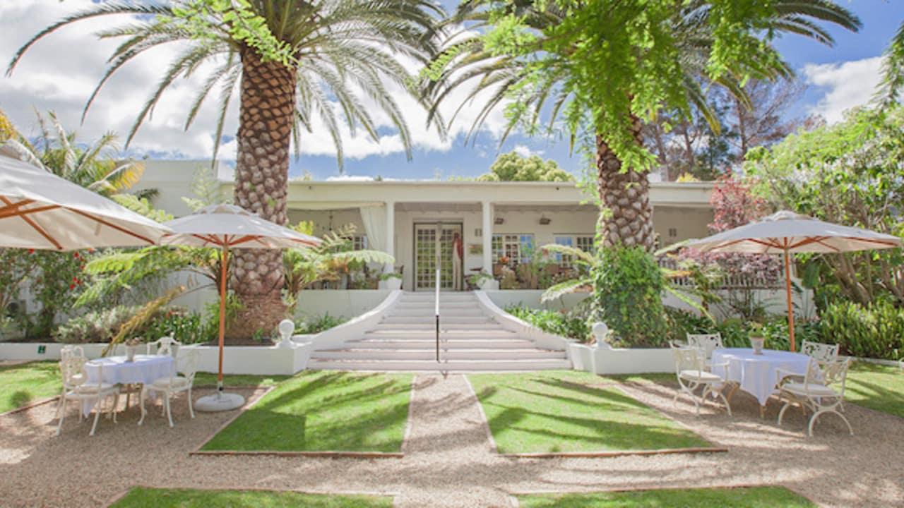 Die Villa Coloniale ist ein luxuriöses 5-Sterne Gästehaus und befindet sich in der Nähe von Kapstadt. (Foto: Villa Coloniale)