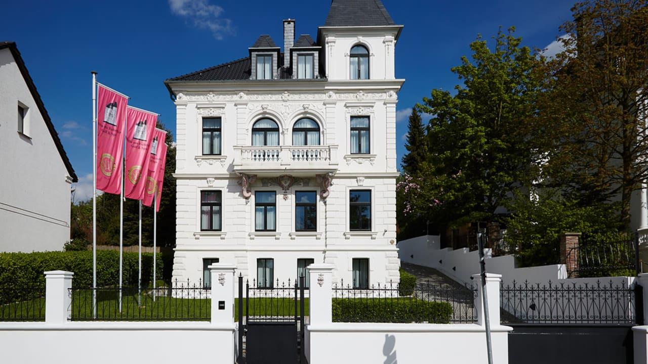 Das Boutique Hotel Villa am Ruhrufer Golf und Spa. (Foto: Heike Moellers)