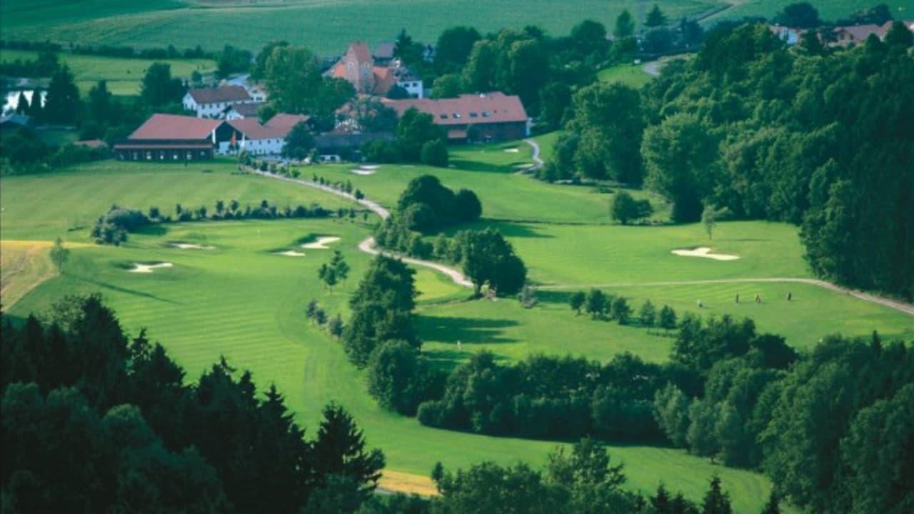 <h2>Golfplatz Uttlau aus der Luft</h2>