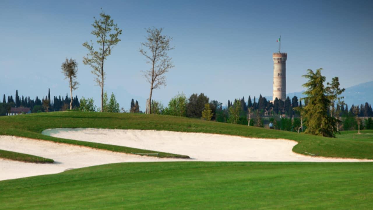 Impressionen des Golfplatzes Chervò Golf San Vigilio. (Foto: golf holiday italy)