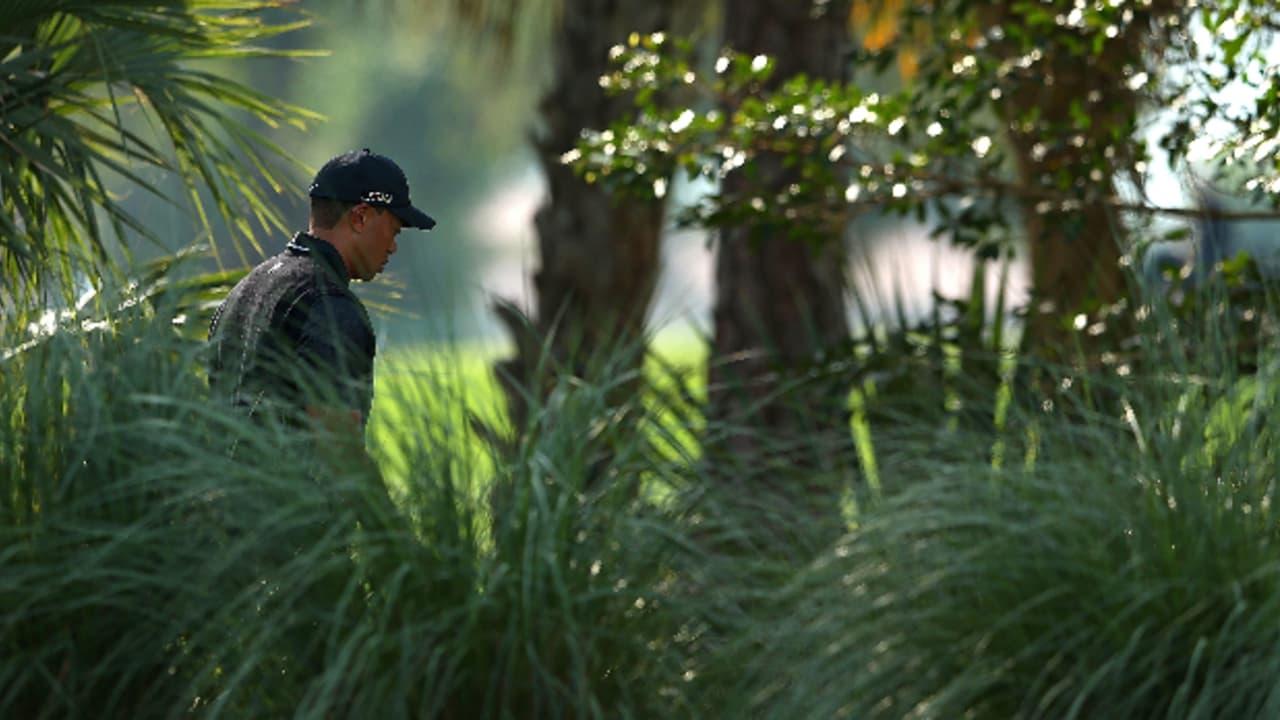 Von Orlando aus an die Ostküste Floridas zog es Tiger Woods... (Foto: Getty)