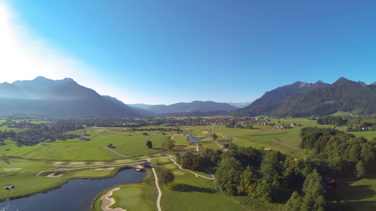 Luftaufnahmen (Foto: Golf Resort Achental)