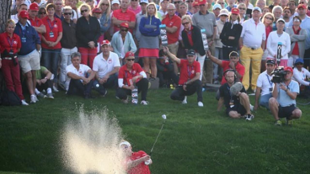 <h2>European Tour zu Gast in Belek</h2> Auch die European Tour machte schon Station in Belek und trug auf dem Montgomerie Maxx Royal Golfplatz die Turkish Airlines Open aus, welche dort seit 2013 stattfindet. <br>(Foto: Getty)