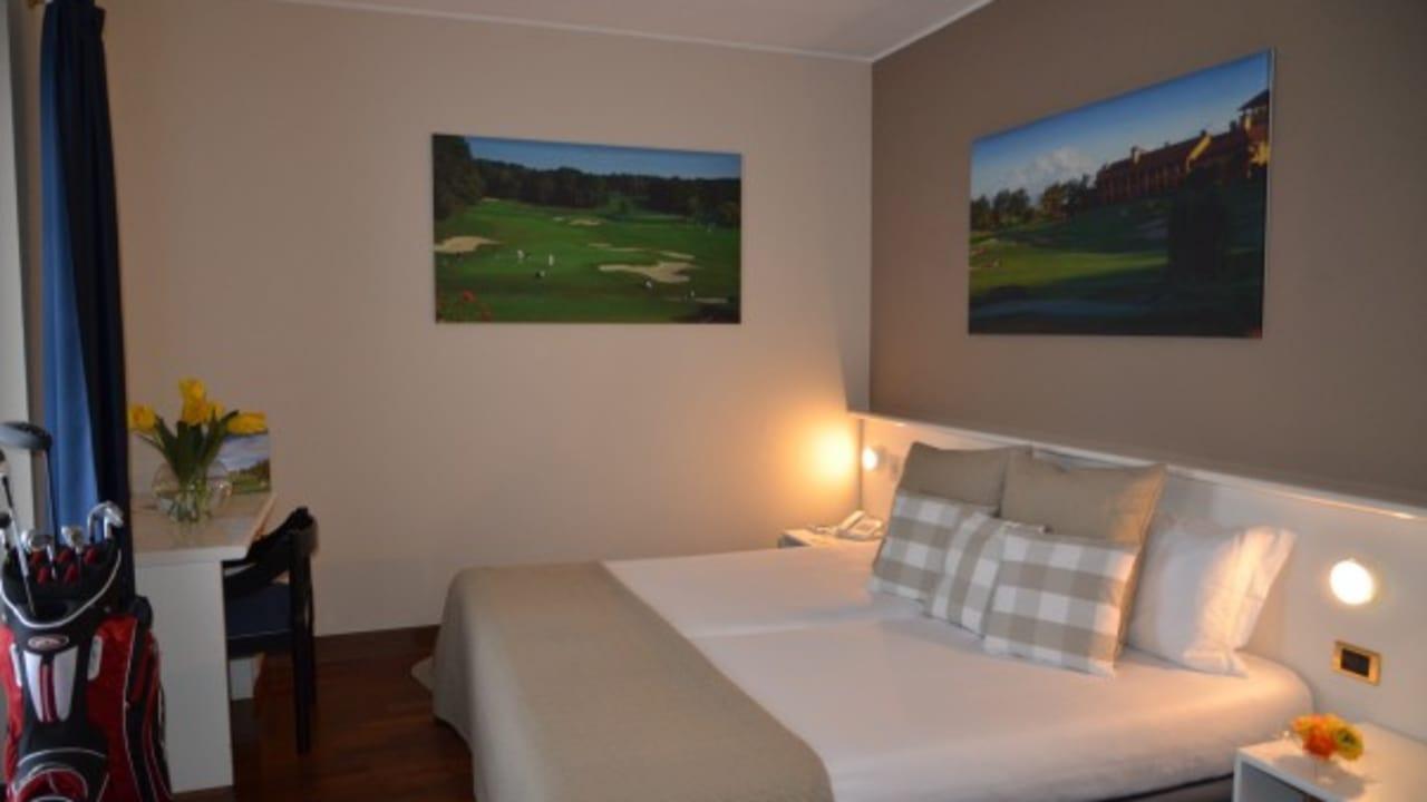 Die Hotelzimmer und das Clubhaus wurden Anfang des Jahres renoviert. (Foto: Golf Hotel Italy)