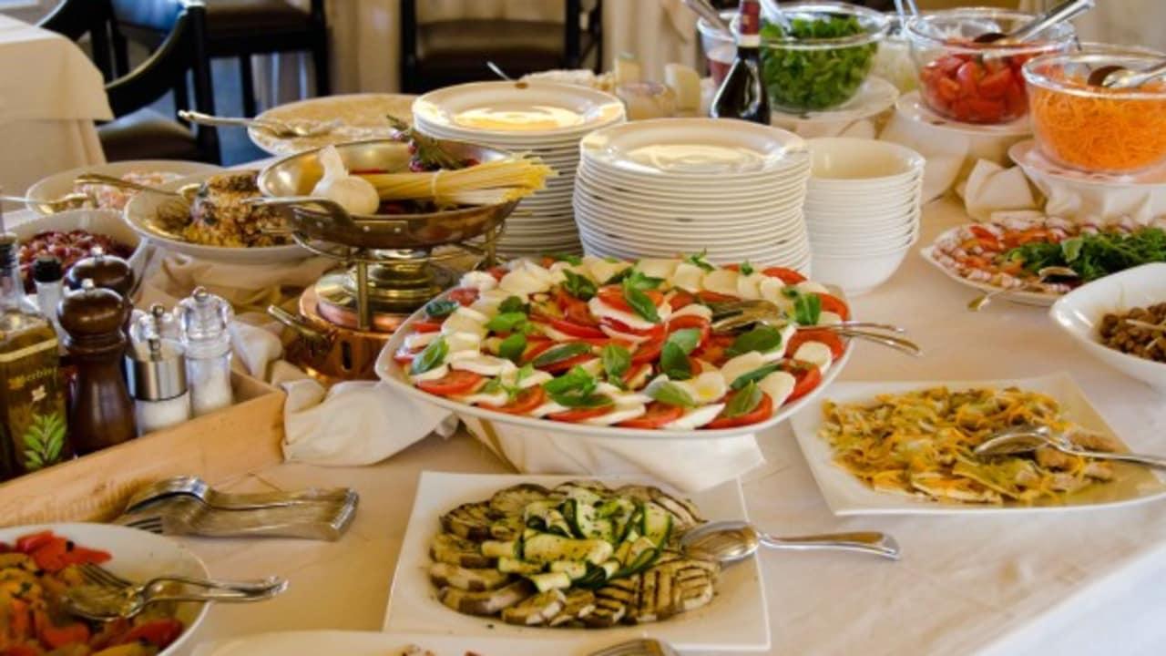 Das Golfhotel Castelconturbia hat viele kulinarische Köstlichkeiten zu bieten. (Foto: Golf Hotel Italy)